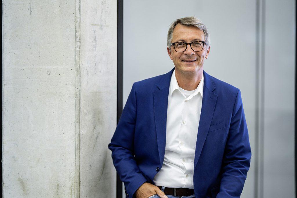 Norbert Weber, Head of Design Interior.