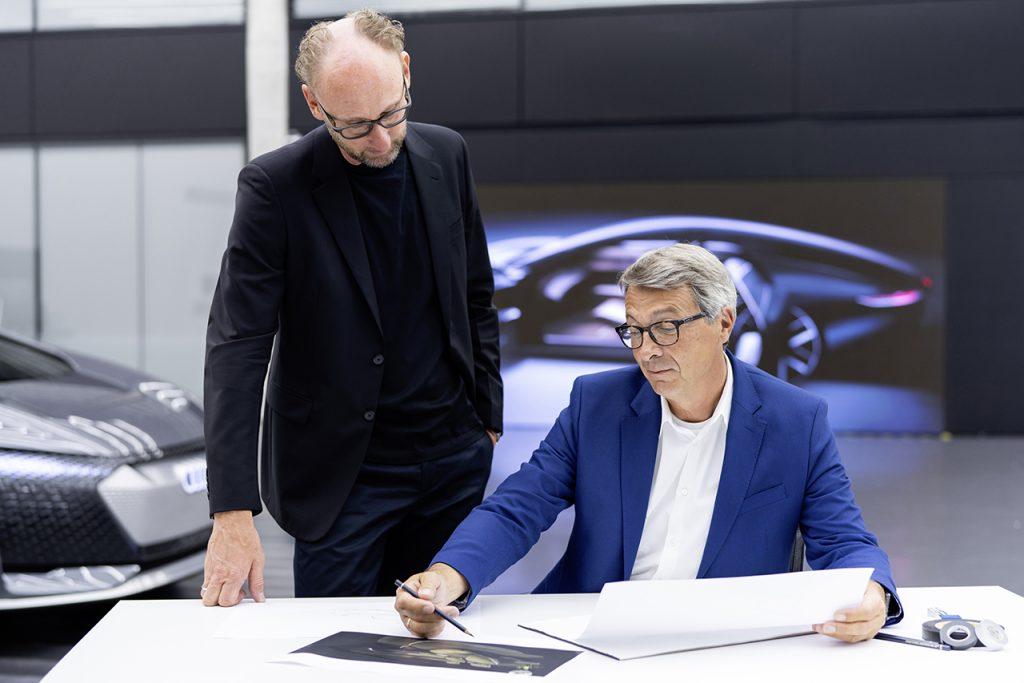Marc Lichte, Head of Design; Norbert Weber, Leiter Interieur Design.