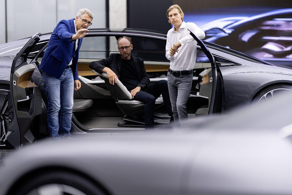 Norbert Weber, Head of Interior Design; Marc Lichte, Head of Design; Philipp Römers, Head of Exterior Design.