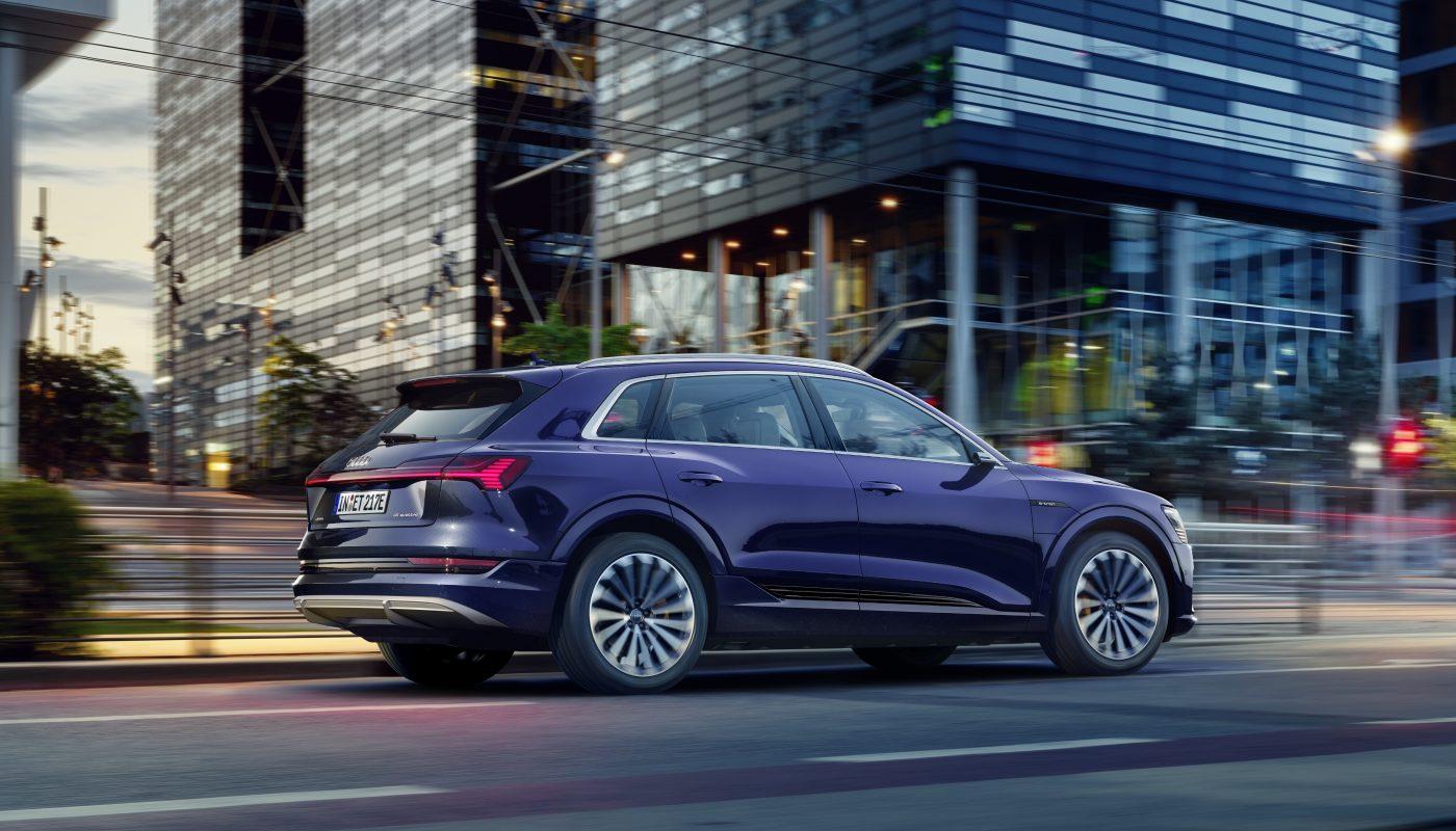 Większa wydajność i dłuższy zasięg: techniczne udoskonalenia w Audi e-tron