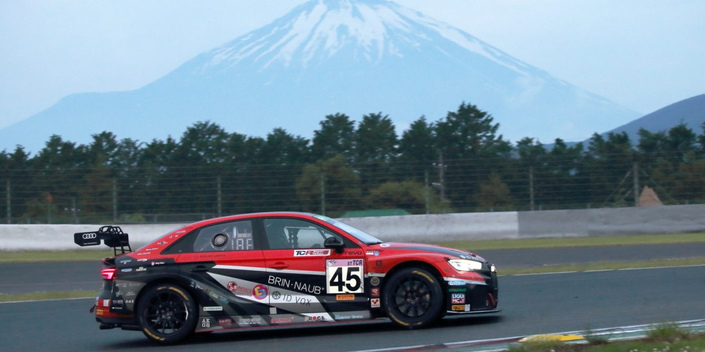 Audi RS 3 LMS #45 (Team DreamDrive), Takuya Shirasaka/Shozo Tagahara/Naoto Takeda