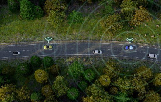 Car2X, traffic hazard alert function.