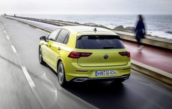 VW GOLF 8 Limonengelb