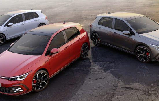 The new Volkswagen Golf GTE, GTI und GTD
